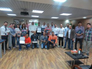 ACK Corporate Training Delivered English Course to AAW Staff