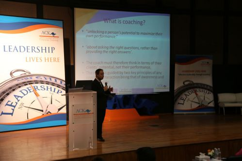 "ACK Corporate Training Hosts ""Effective Leadership Through Coaching"" Seminar"