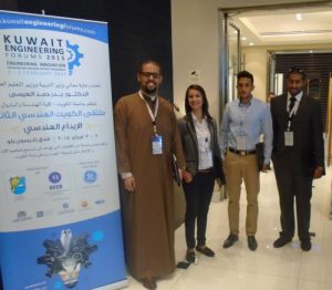 ACK Students Participate in the Kuwait Engineering Forum