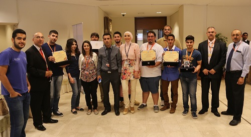 "ACK Takes 2nd place in the ""Third Kuwait National Robotics Competition"""