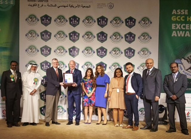 ACK Wins The Prestigious ASSE GCC HSE Excellence 2016 Gold Award