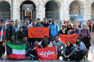 ACK in the 2nd World InterUniversities Championship in Rome