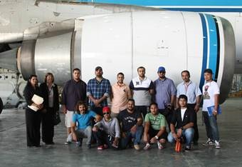 ACK students visit the Kuwait International Airport