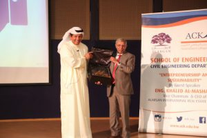 ALARGAN offers ACK students insights into 'Entrepreneurship and Sustainability'