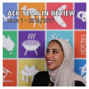 First Annual ACK Year in Review (2016/2017)