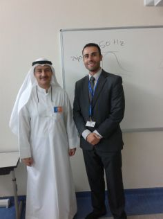 The Australian College of Kuwait Hosts KISR Researcher in the Department of Advanced Systems to Speak to Engineering Students on the Topic of the Future of Sustainable Energy in Kuwait