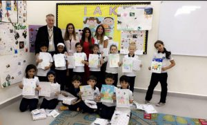 """ACK Awards Winners of the"""" Smoking Awareness Initiative"""" Competition at the International Academy of Kuwait"""