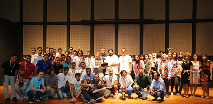 The Australian College of Kuwait takes first place in the University Championship Cup