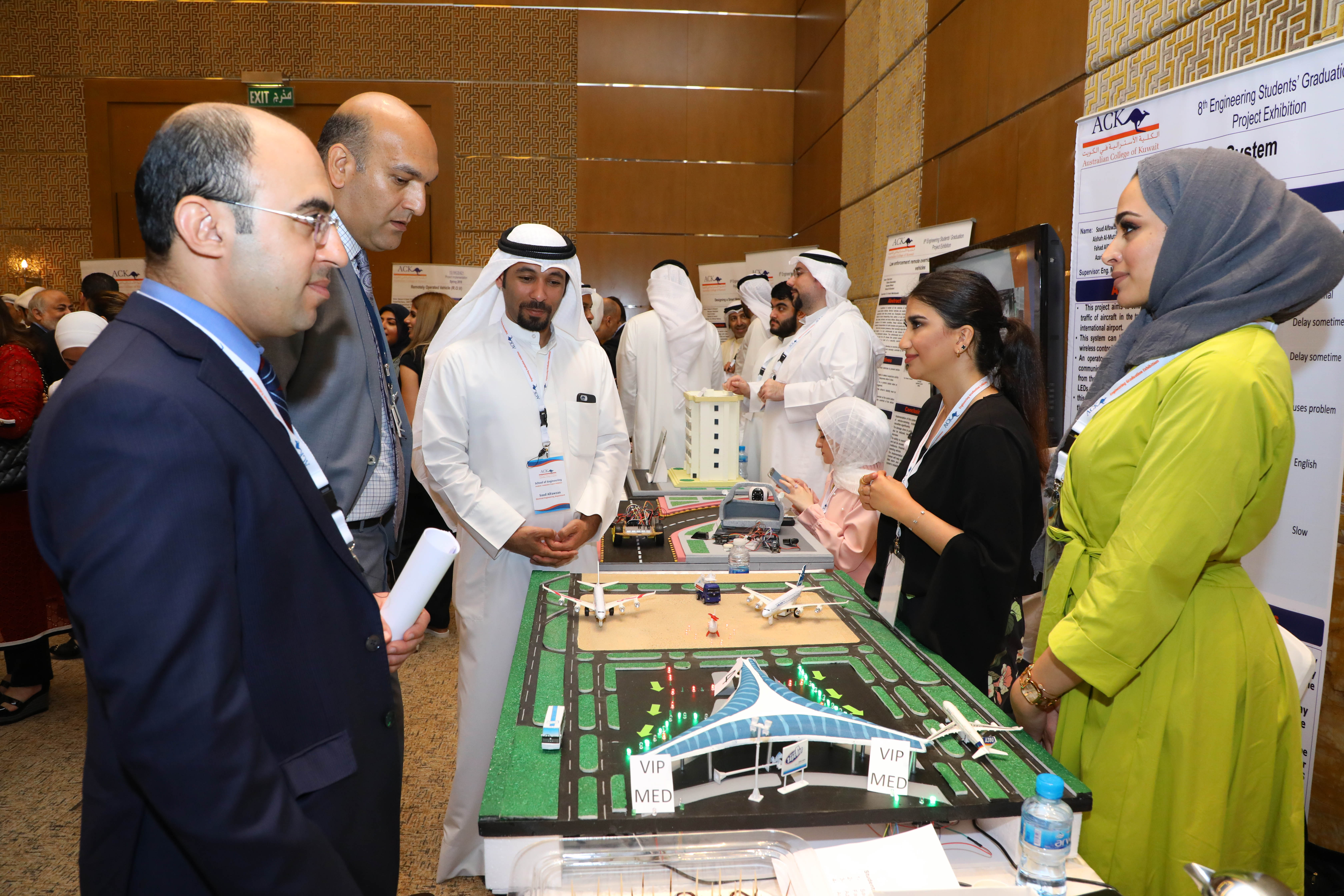 ACK holds Engineering Students' Graduation Project Expo
