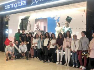 """ACK Students' concluded their job shadowing experience at """"Bloomingdale's Kuwait"""" in collaboration with Injaz"""