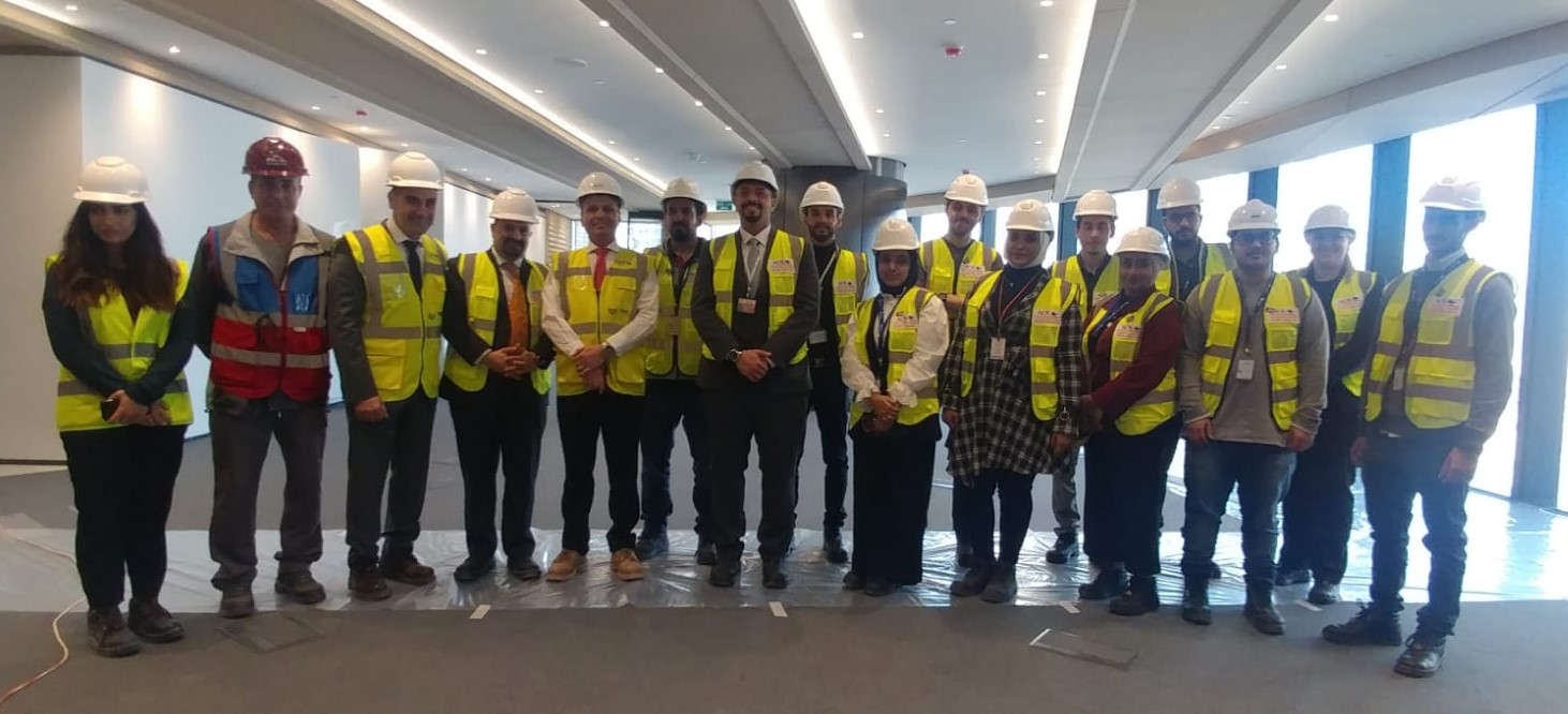 ACK Organizes a Field Trip to the NBK Tower Project