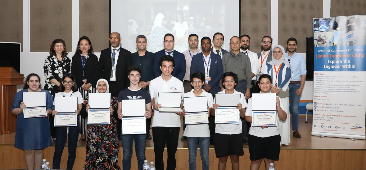 ACK Awards Junior Engineers Camp Participants