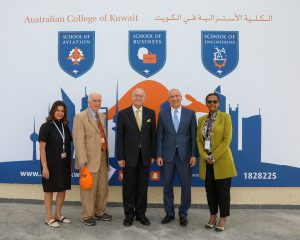 ACK President Welcomes World Bank's Director on Campus