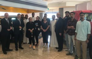 ACK students Visit the Oldest Chevrolet Showroom in Kuwait
