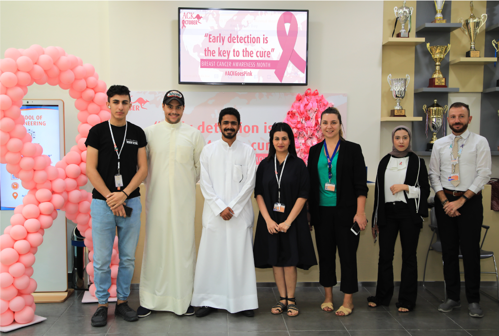 "ACK ""Goes Pink"" to support Breast Cancer Awareness Campaign"