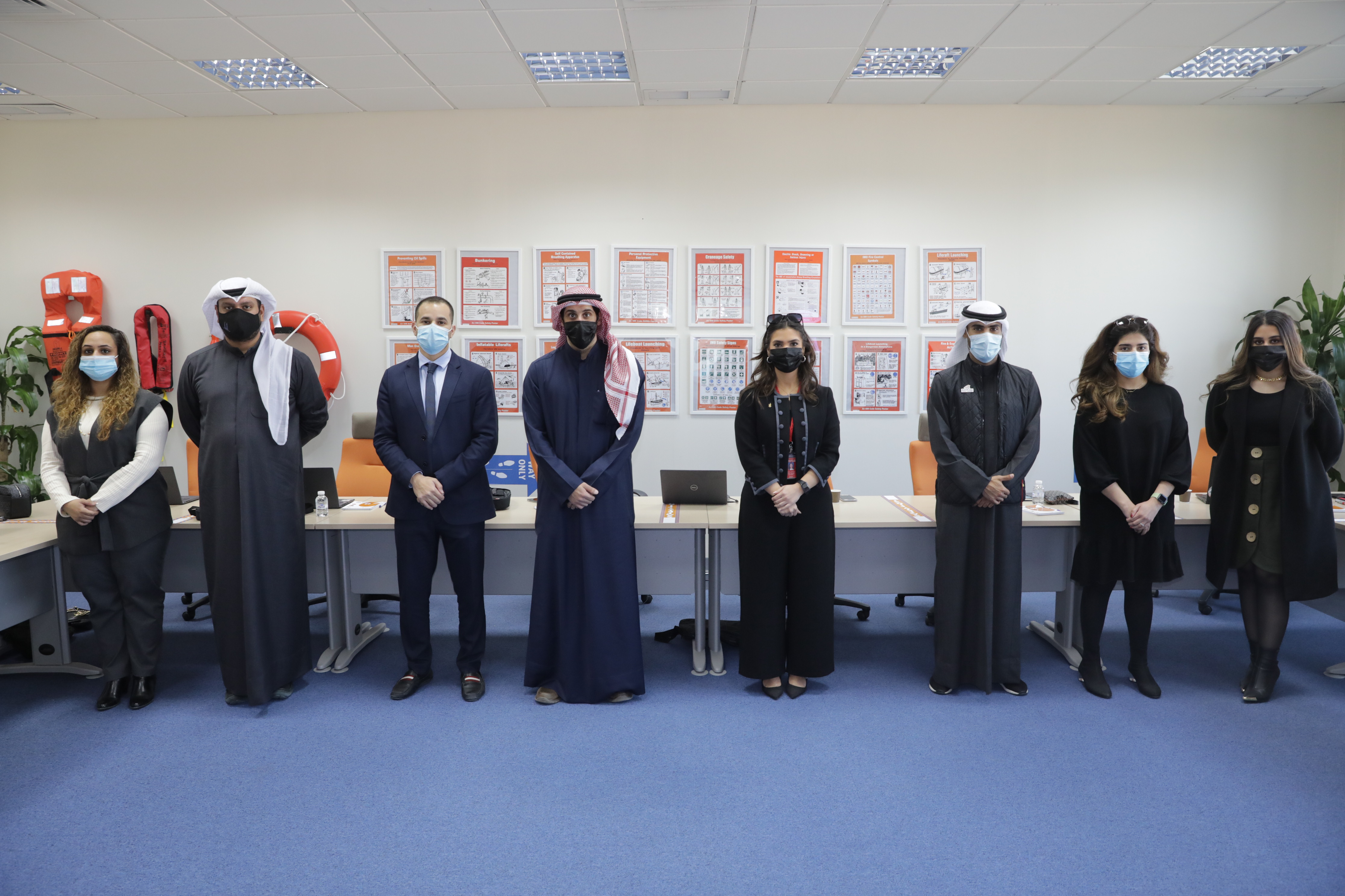 "ACK Fosters a Link with the Industry by Conducting ""Microsoft Teams"" Training to Gulf Bank"