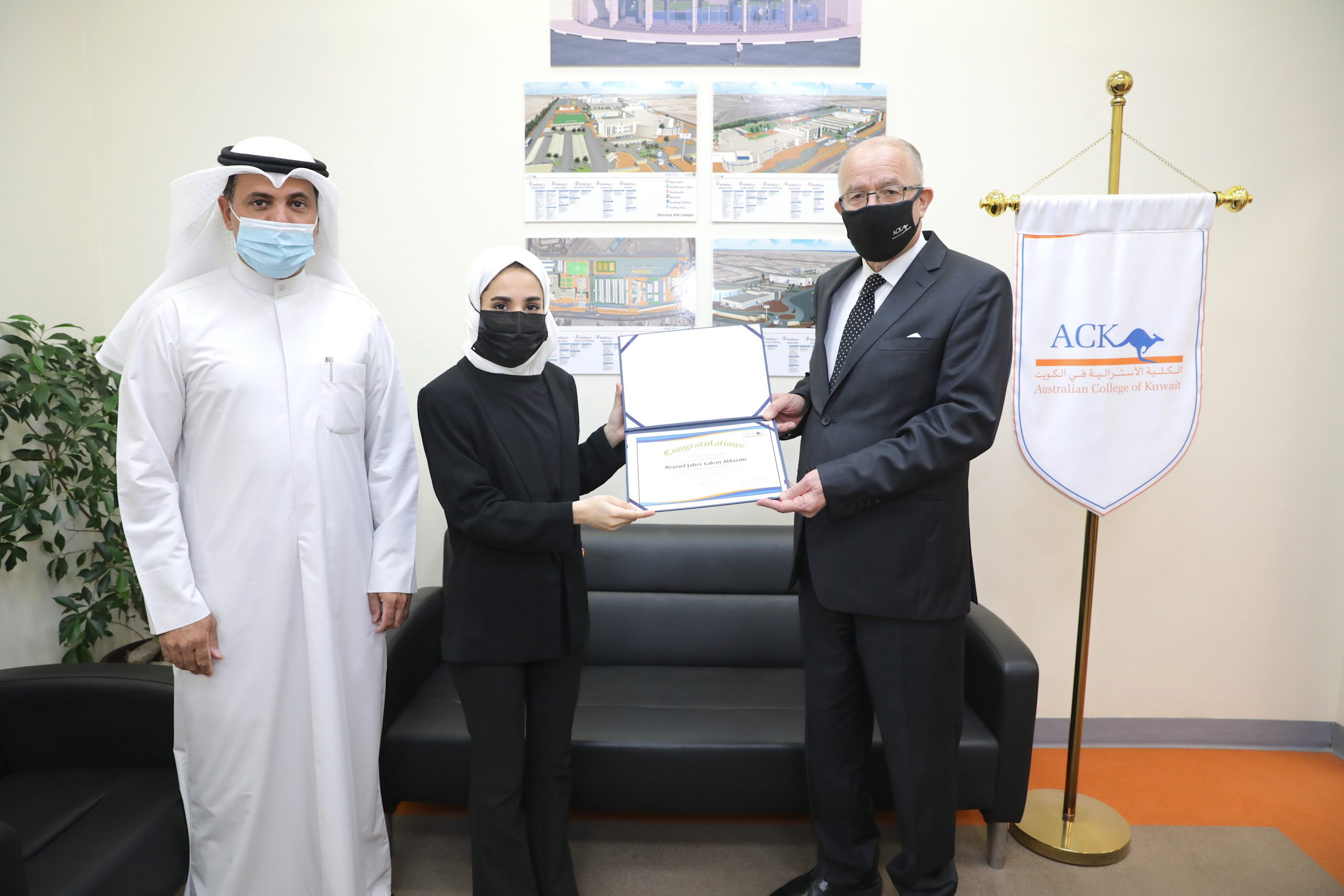 ACK students win third place in the Universities Entrepreneur Battle competition