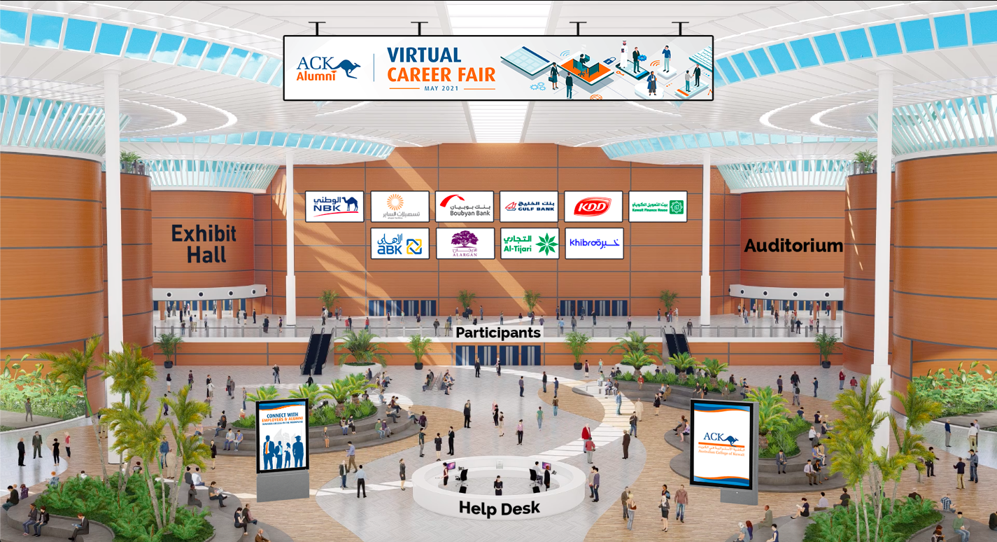 ACK Successfully Held Its First Virtual Career Fair